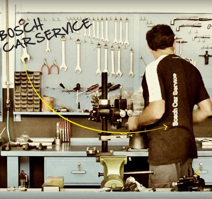 Officina specializzata della rete Bosch Car Service