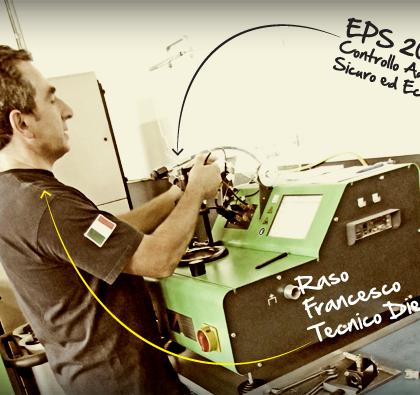 Diagnosi auto con EPS 200 Bosch