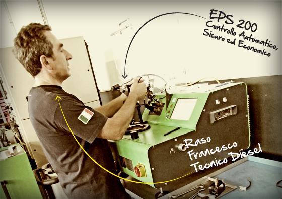 Diagnosi auto con EPS 200 Bosch - autofficina Eurodiesel - Pistoia